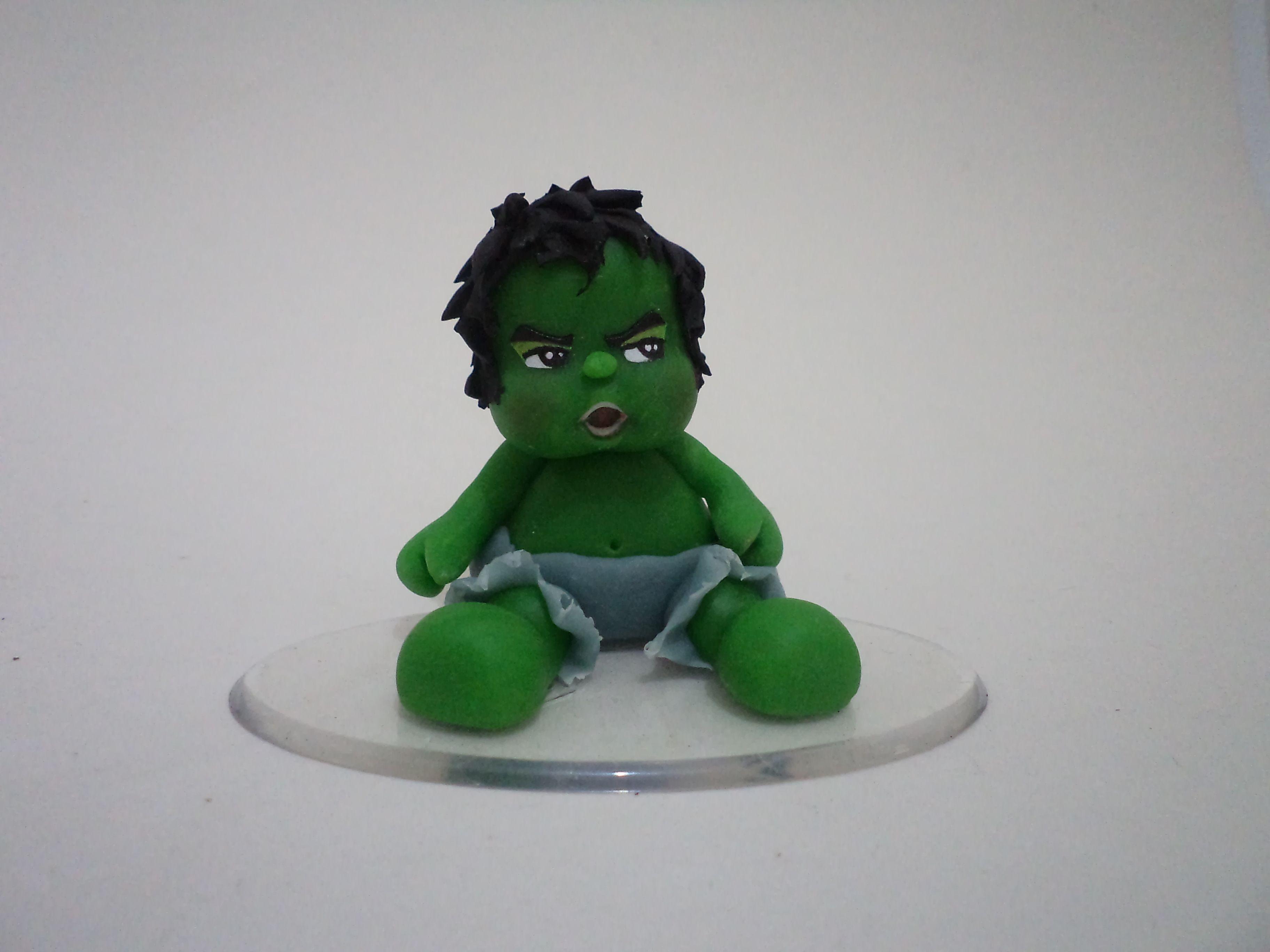 Incrivel Hulck Pretty incrível hulk infantil, feito com molde de silicone sueli ribas