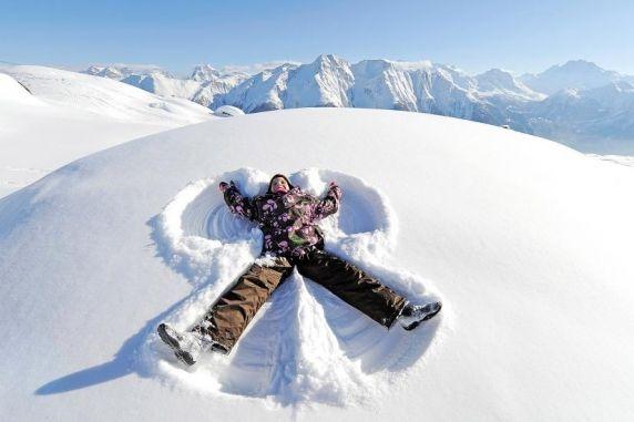 Schnee-Engel