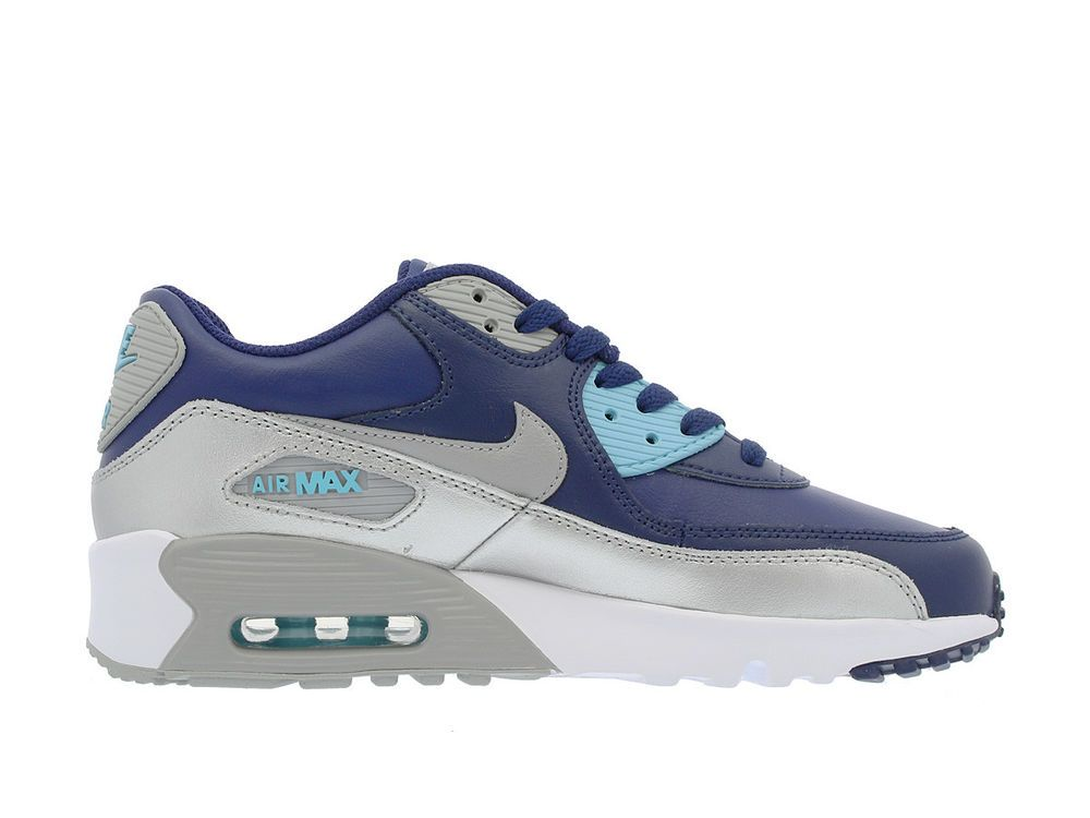 finest selection 9704a a36ba eBay  Sponsored NIKE AIR MAX 90 LTR (GS) Girls Sneakers 833376-403 MSRP   90