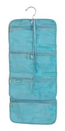 Baggallini Luggage Hanging Cosmetic Bag Turquoise One Size Clothing