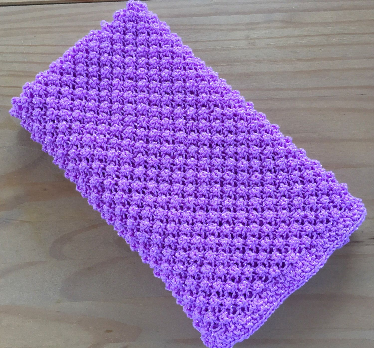 Hand knit sparkly baby blanket by Daisy Gray Knits | knitting ...