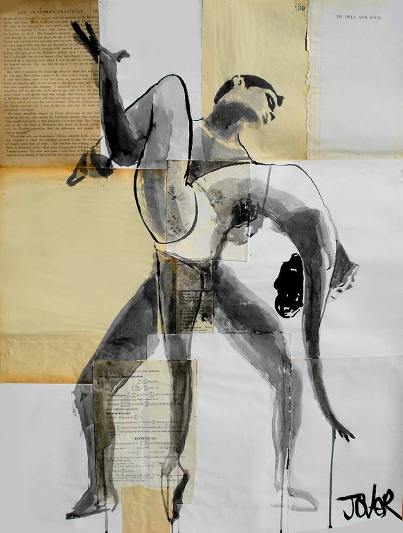 Saatchi Online Artist: Loui Jover; Paper, Assemblage / Collage to hell and back