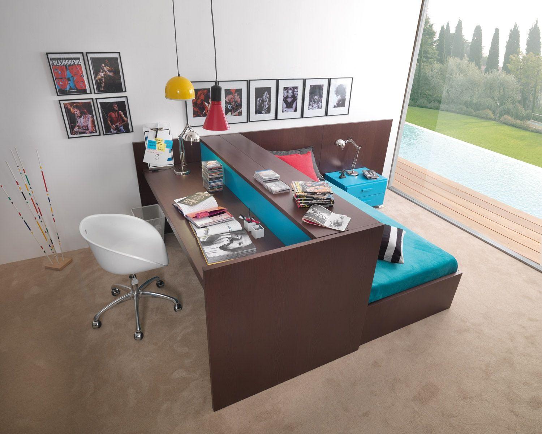 Dear Kids – Colour Panache | bunks bunks bunks | Lit bureau, Bureau bois massif, Futon diy