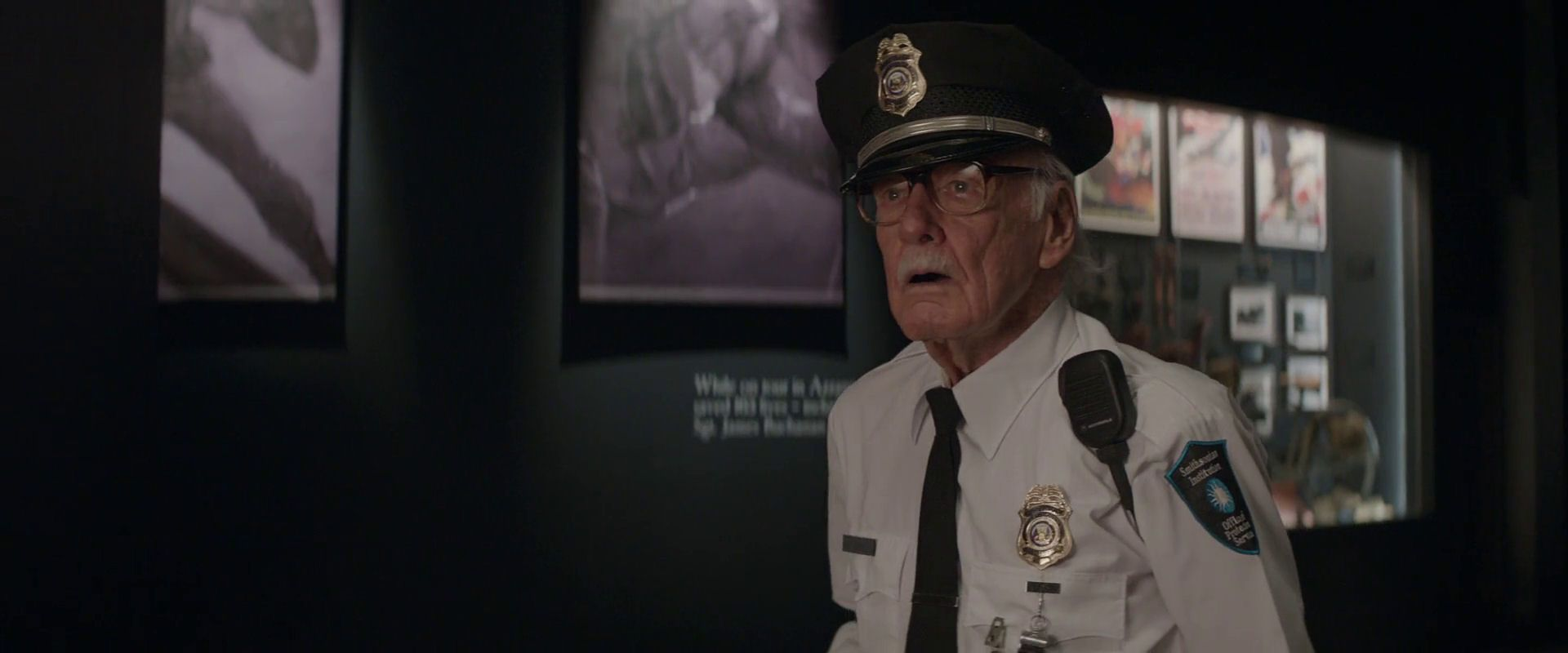 "Stan Lee's cameo in ""Captain America The Winter Soldier"". #Marvel #CaptainAmericaTheWinterSoldier 