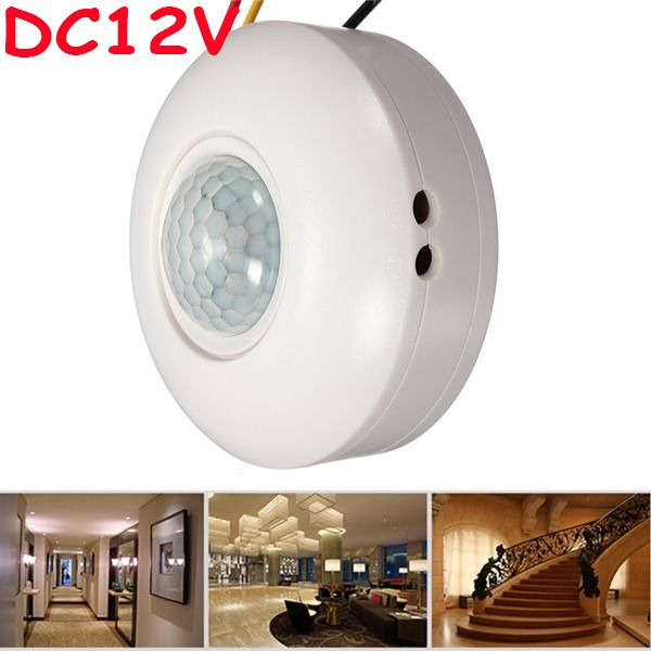 High sensitivity 12vdc ceiling mounted pir motion sensor light high sensitivity 12vdc ceiling mounted pir motion sensor light switch time delay pir ceiling occupancy aloadofball Gallery