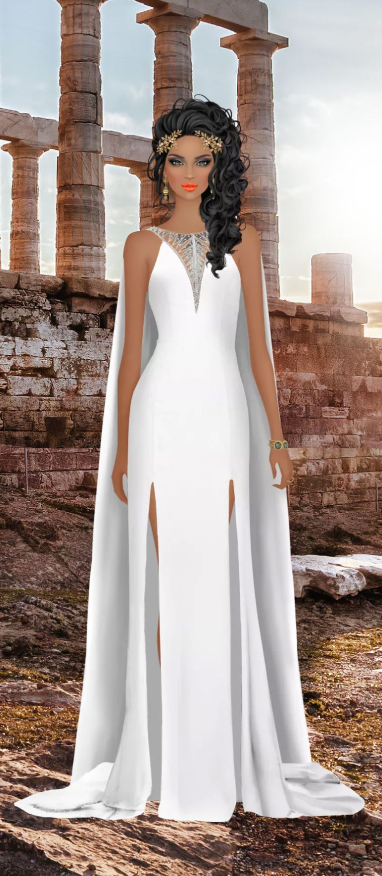 Pin By Crissy Owen On Covet Fashions Fashion Dresses Egyptian Costume