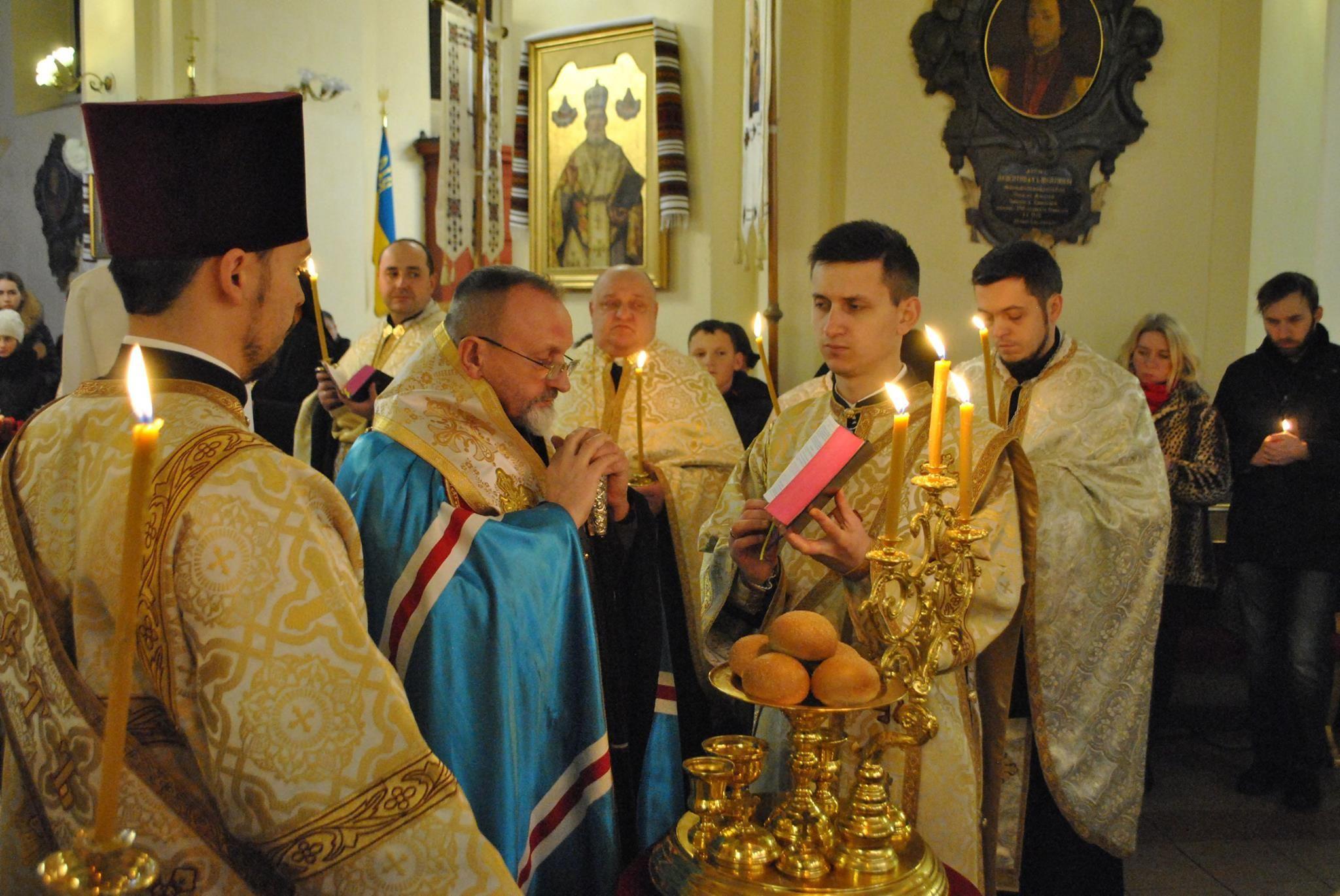 Велике Повечір'я з Литією в Архикатедральному Соборі св. Юра