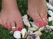 Yep..wear a toe ring....24/7/365