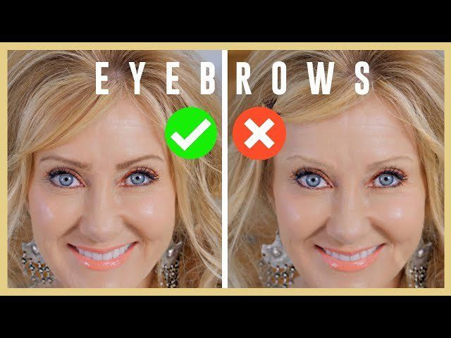 Eyebrow tutorial for women with mature eyes!�️�