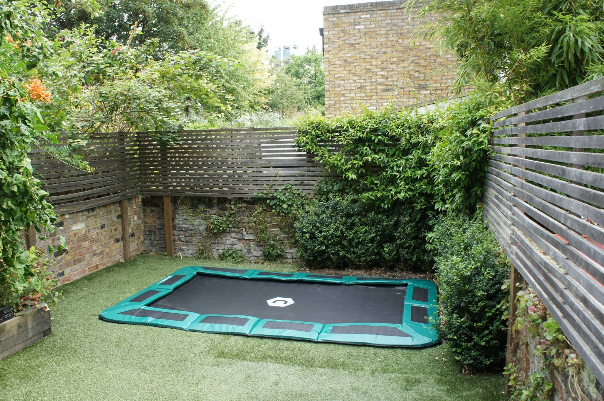 Capital In Ground Installation 10ft X 6ft In Green In Ground Trampoline Trampoline Best Trampoline