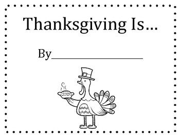 Thanksgiving Is... by Gail Gibbons Questions and Class