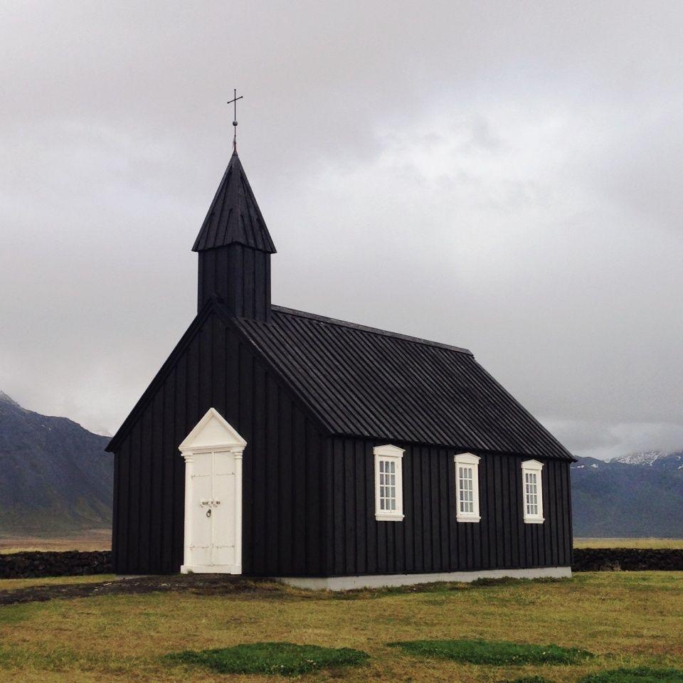 Black Church. Búðir, Iceland.