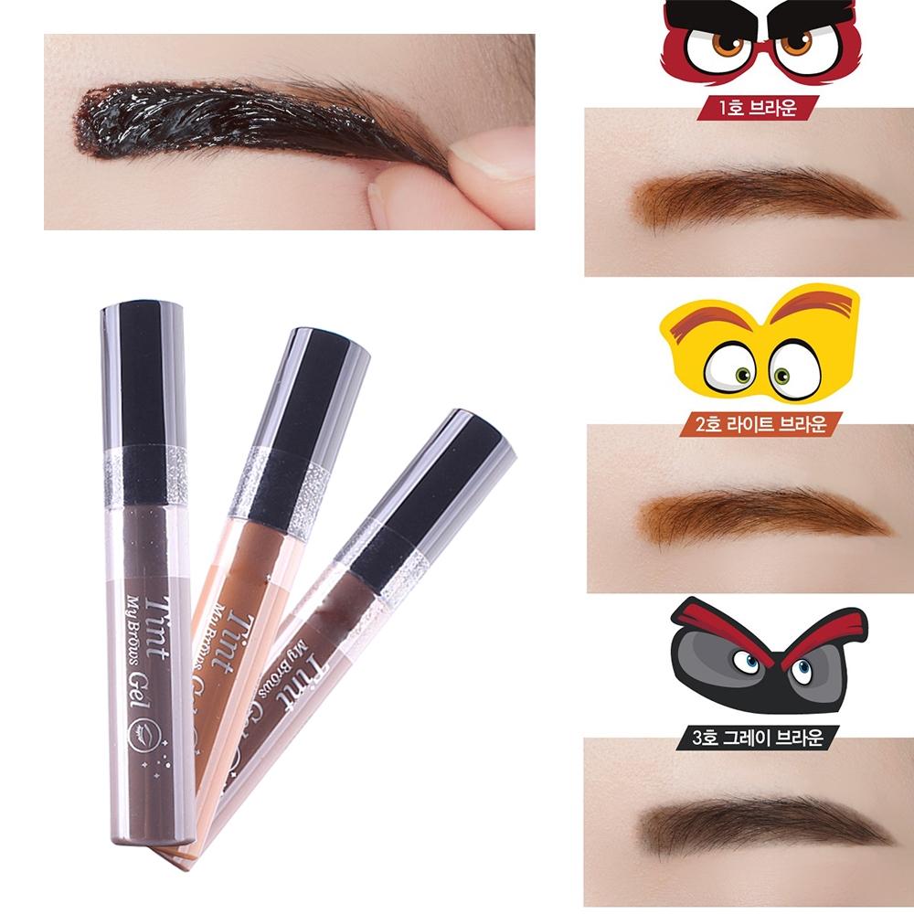 1.3 Buy here New Gray Brow Color Peel Off Eyebrow