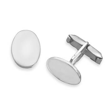 Oval Engravable Cuff Links,  VENDOR CODE: AFF9965, http://www.samanthassilver.com/  .  Online Catalog, Use VENDOR CODE:  AFF9965 at checkout!
