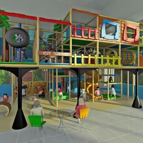 Indoor Places To Take Pictures: Three-story Indoor Play Area Opens In Overland Park