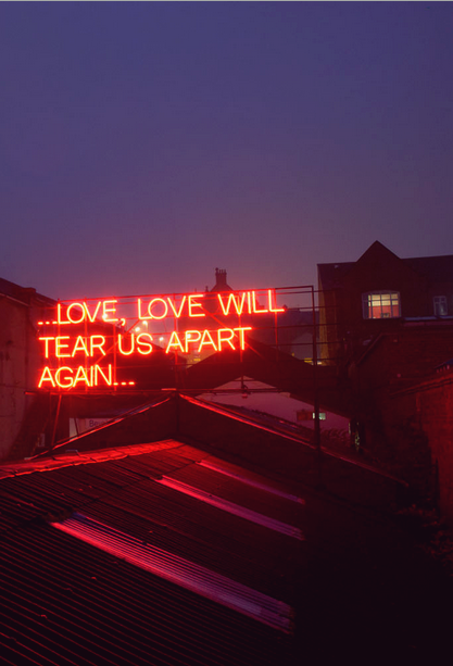 Love Will Tear Us Apart Again Via Tumblr Music Stuff Pinterest
