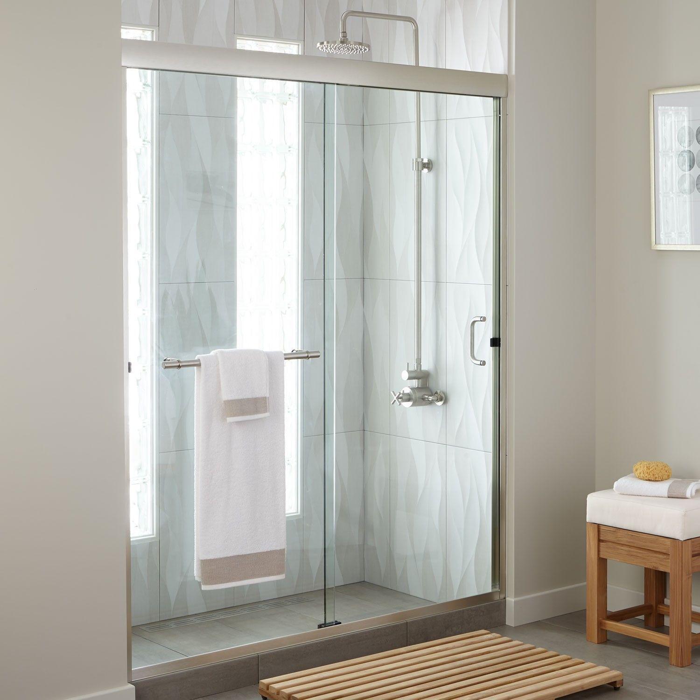 60 Brackett Sliding Shower Door Slidingshowerdoors 60 Brackett Sliding Shower Door Showers Bathroom Sliding Bathroom Doors