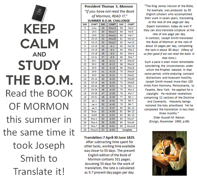 Bomsummer  book of mormon summer reading program help your also chart only pages per day    rh pinterest