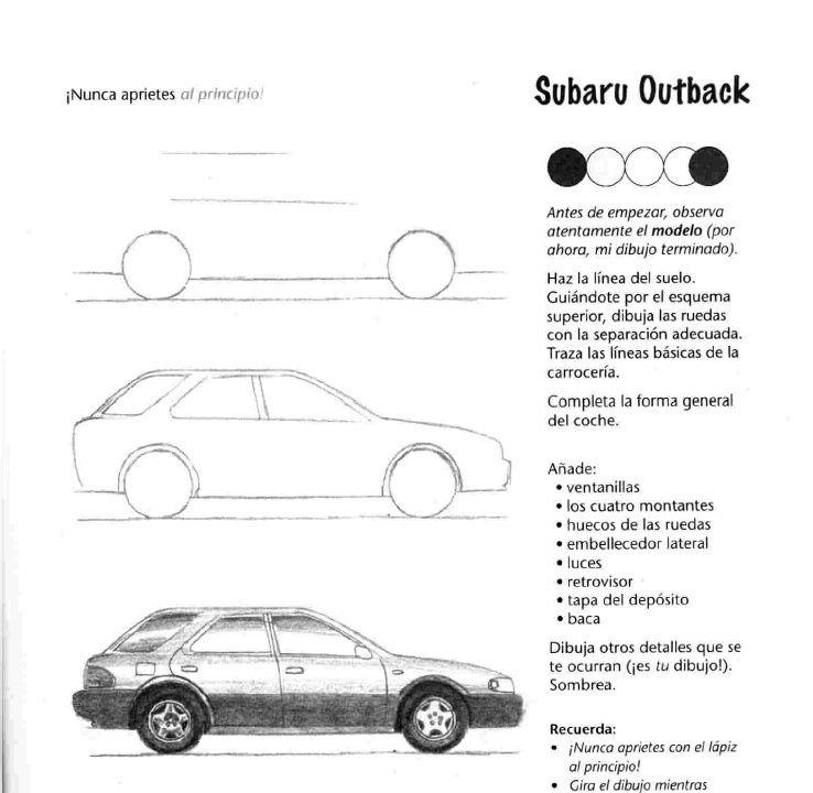 como dibujar autos paso a paso | Pinterest