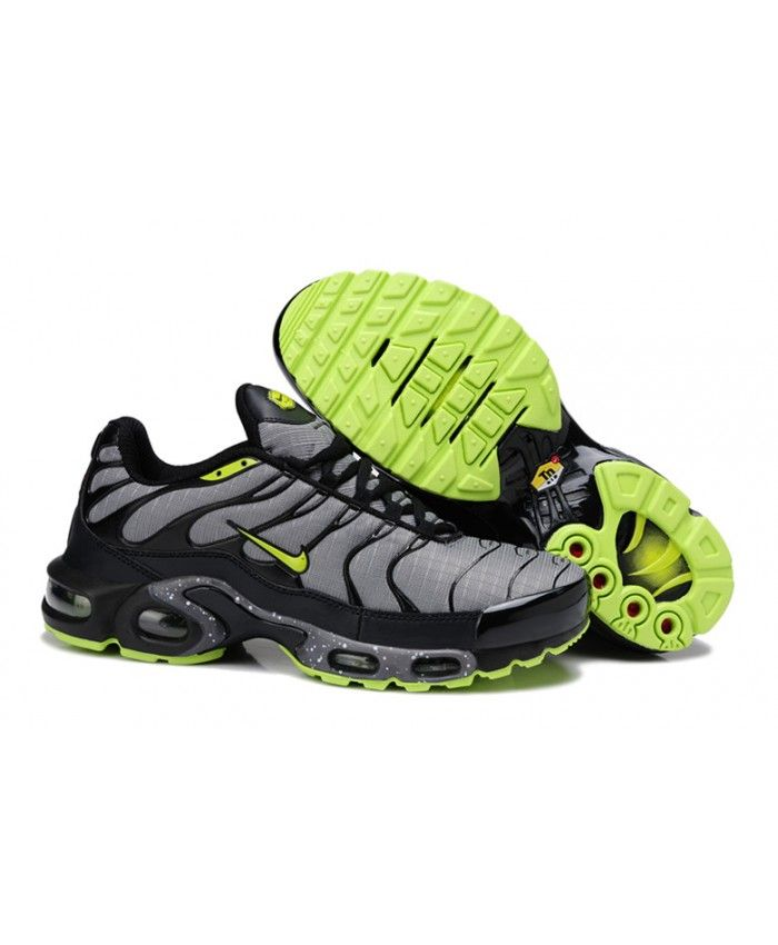 2016 Nike Air Max TN Mens Black Grey Green Sale | Nike air