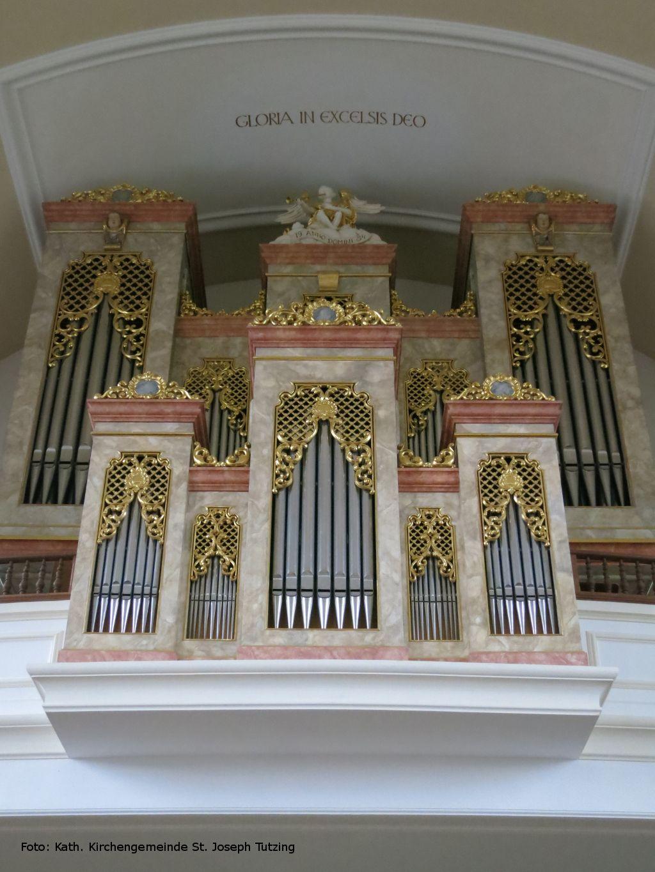 Das Portal der Königin - Informationen rund um die Pfeifenorgel - Tutzing - St. Joseph