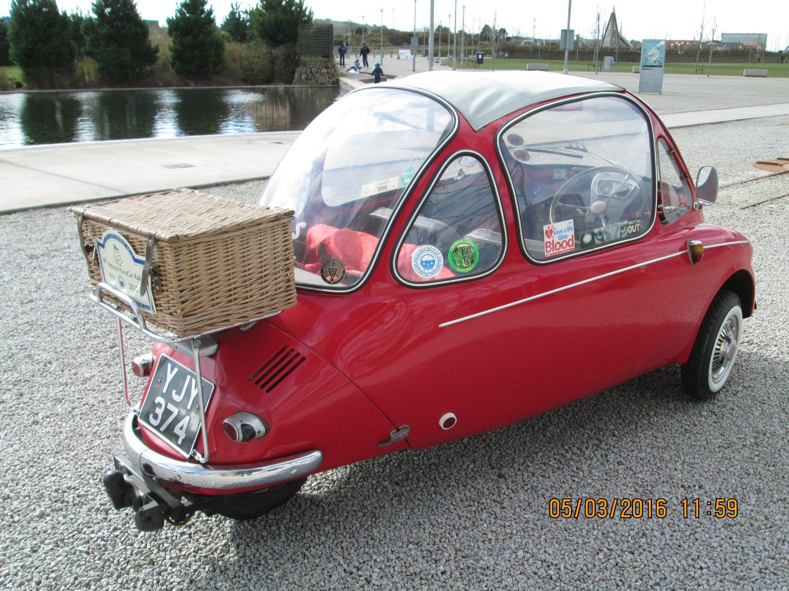 Heinkel Trojan Bubble Car In Cars Motorcycles Vehicles