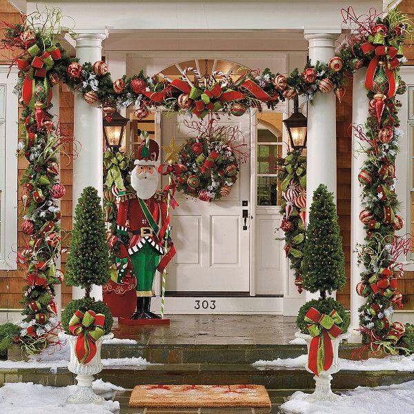 Fun Christmas Decorating \u2014 Outdoors Style Santa, Xmas and