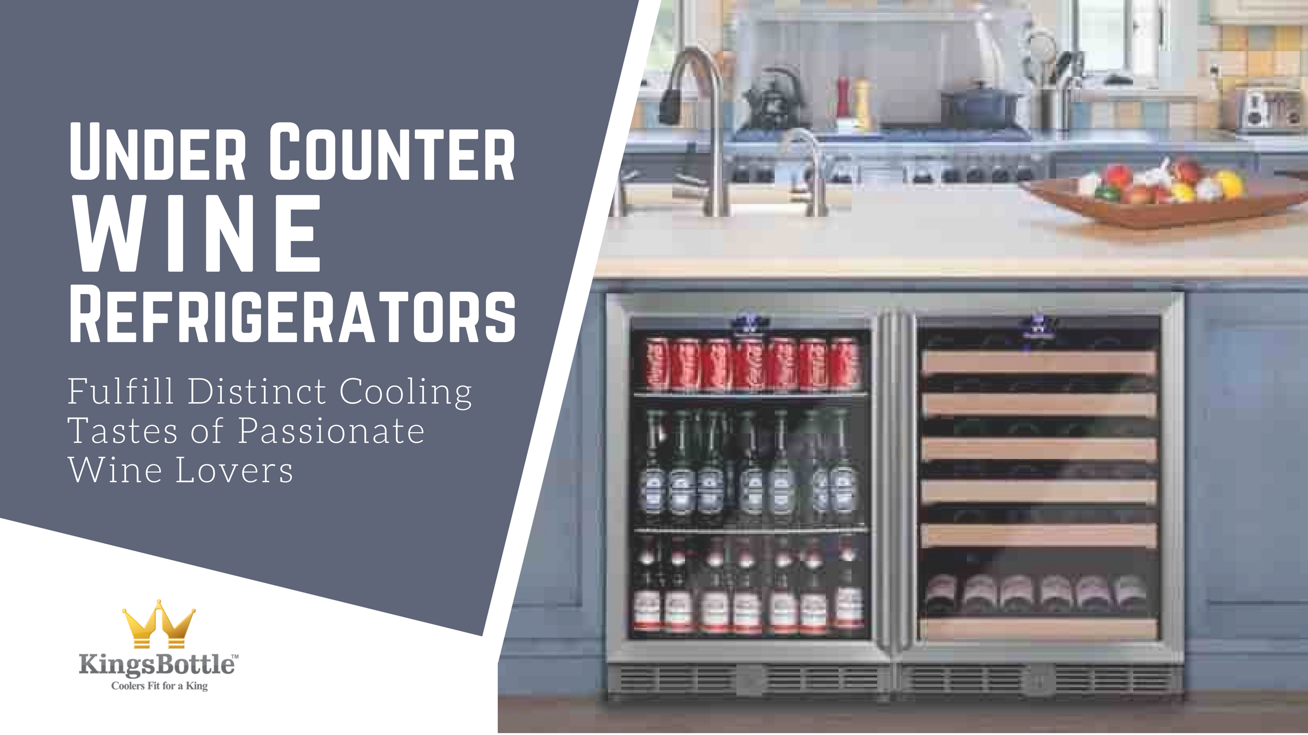 High Quality Undercounter Winerefrigerators To Fulfill Distinct Cooling Tastes Of Passionate Wine Lovers Kingsbo Wine Refrigerator Wine Coolers Drinks Wine