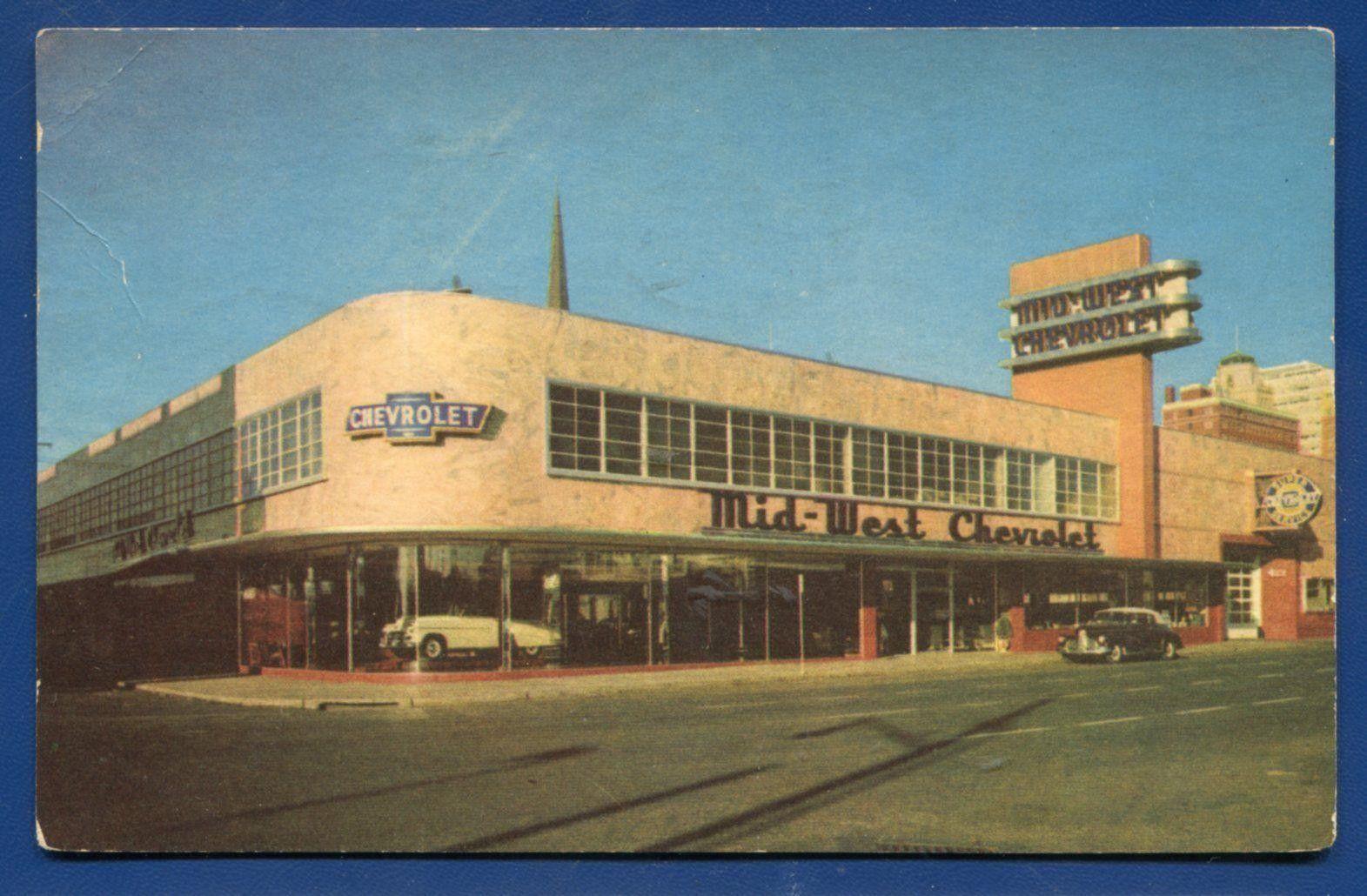 1953 MidWest Chevrolet Dealership, Tulsa, Oklahoma