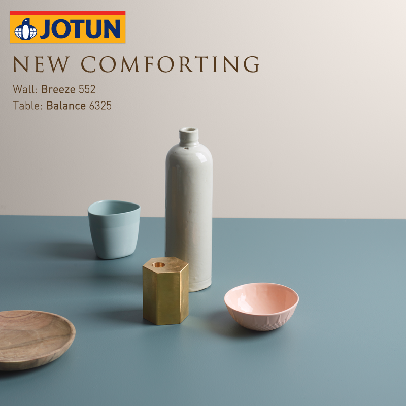 Pin By Jotun Paints Arabia On New Comforting Wall Breeze Paint Color Palettes
