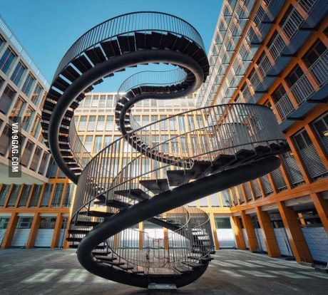 Never Ending Staircase Beautiful Stairs Staircase Design Stairs