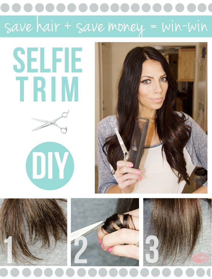 How to trim your own hair with 3 simple steps! | maskcara ...