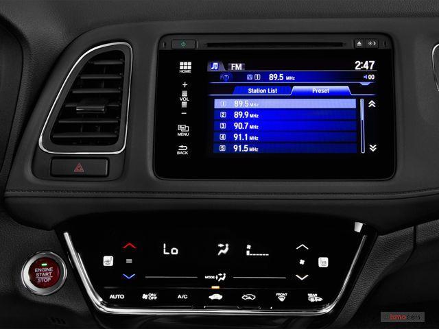 2017 Honda Hr V Audio System