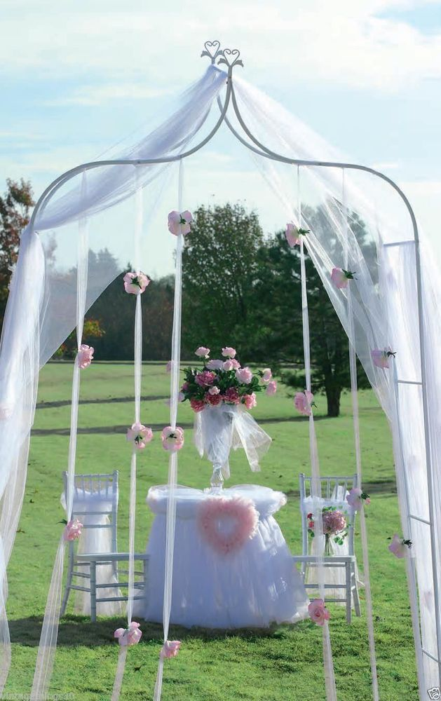 WEDDING ARCH with peaked top Garden Arbor indoor/outdoor wedding ...