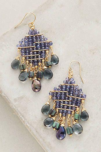 Viola Chandelier Earrings