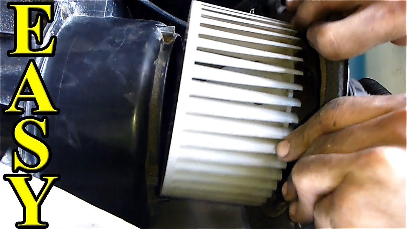How to fix a Noisy Blower Motor AC Heat Fan Heat fan