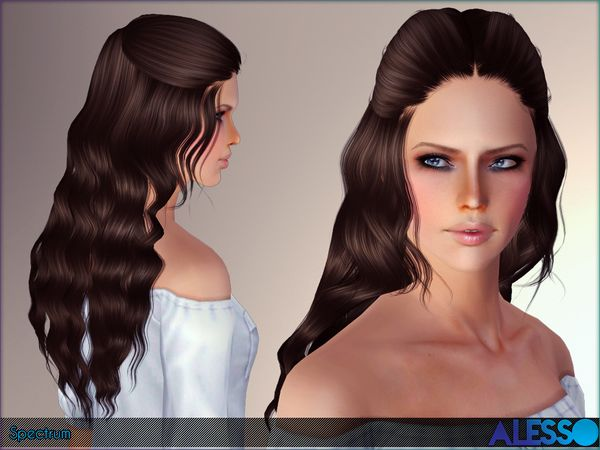 Curly Long Hair With Bangs Id 886 By Peggy Zone Sims 3 Hairs Hairstyles With Bangs Sims 4 Curly Hair Kids Hairstyles