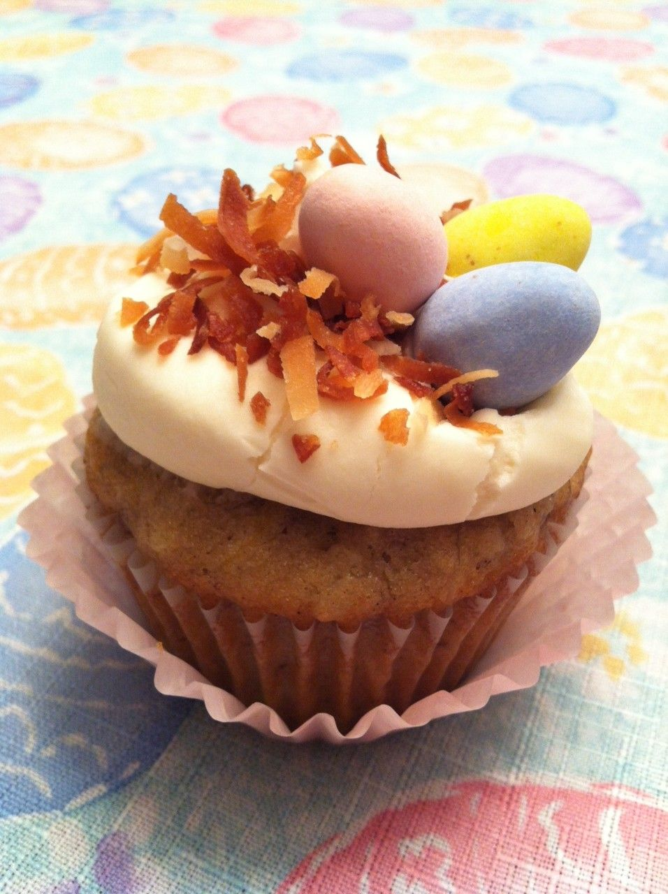 My friend Kristin's Hummingbird cupcakes that she made for