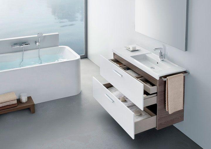 Mueble de baño Prisma de Roca | Casita | Pinterest | Prismas ...