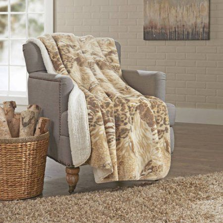 Walmart Throw Blankets Better Homes And Gardens Sherpa Throw Beige  Pinterest  Walmart