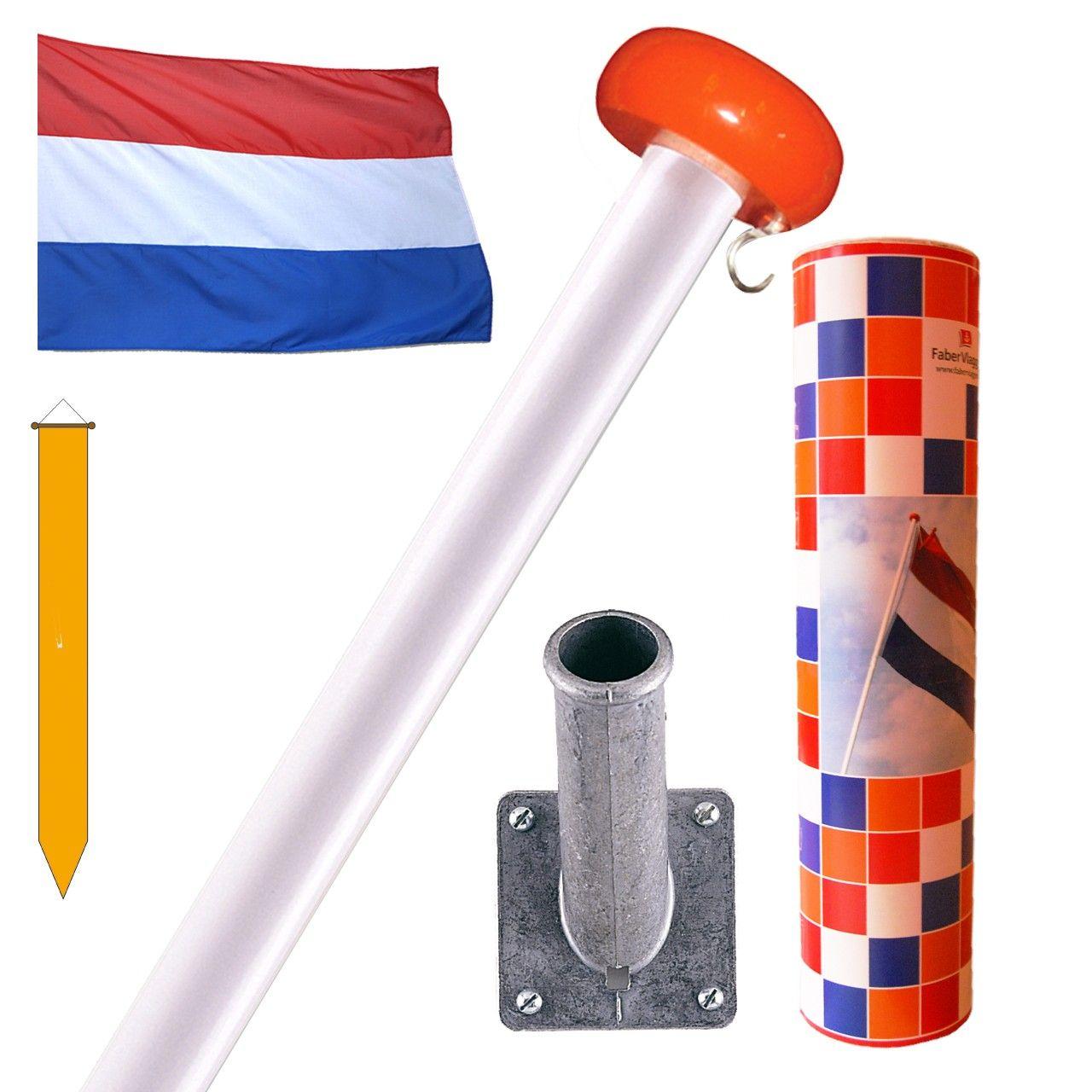 Geschenkset Nederlandse vlag    Faber Vlaggen