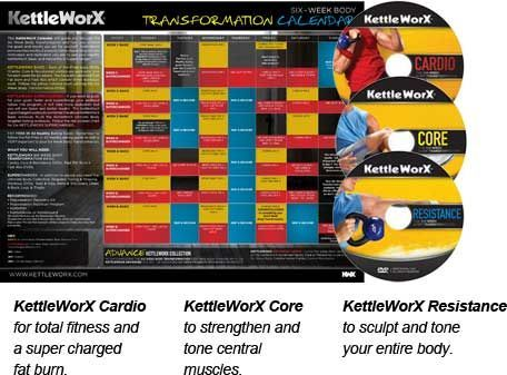 Image Result For Kettleworx 6 Week Calendar Total Workout Workout Calendar Kettlebell Workout