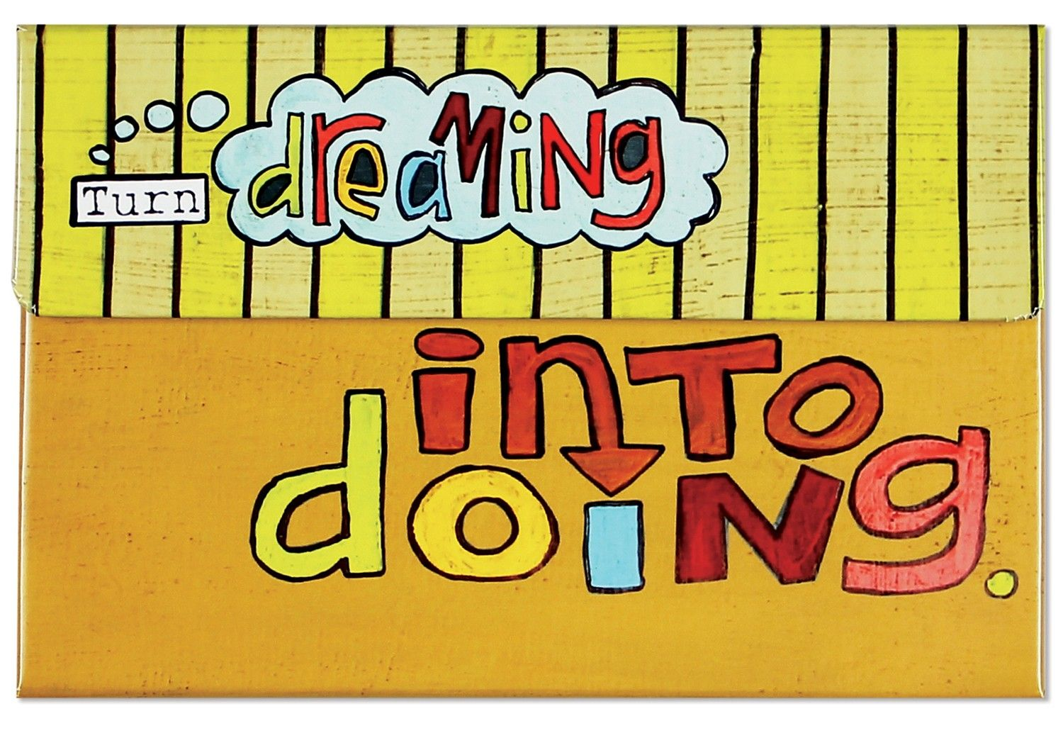 Sticky Note Set − Turn Dreaming Into Doing - Things with Wings - {Enjoy} the Little Things - C.R. Gibson