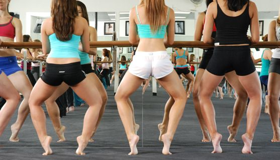 Obsessed with this: Barre Workout. Need to get back into it.
