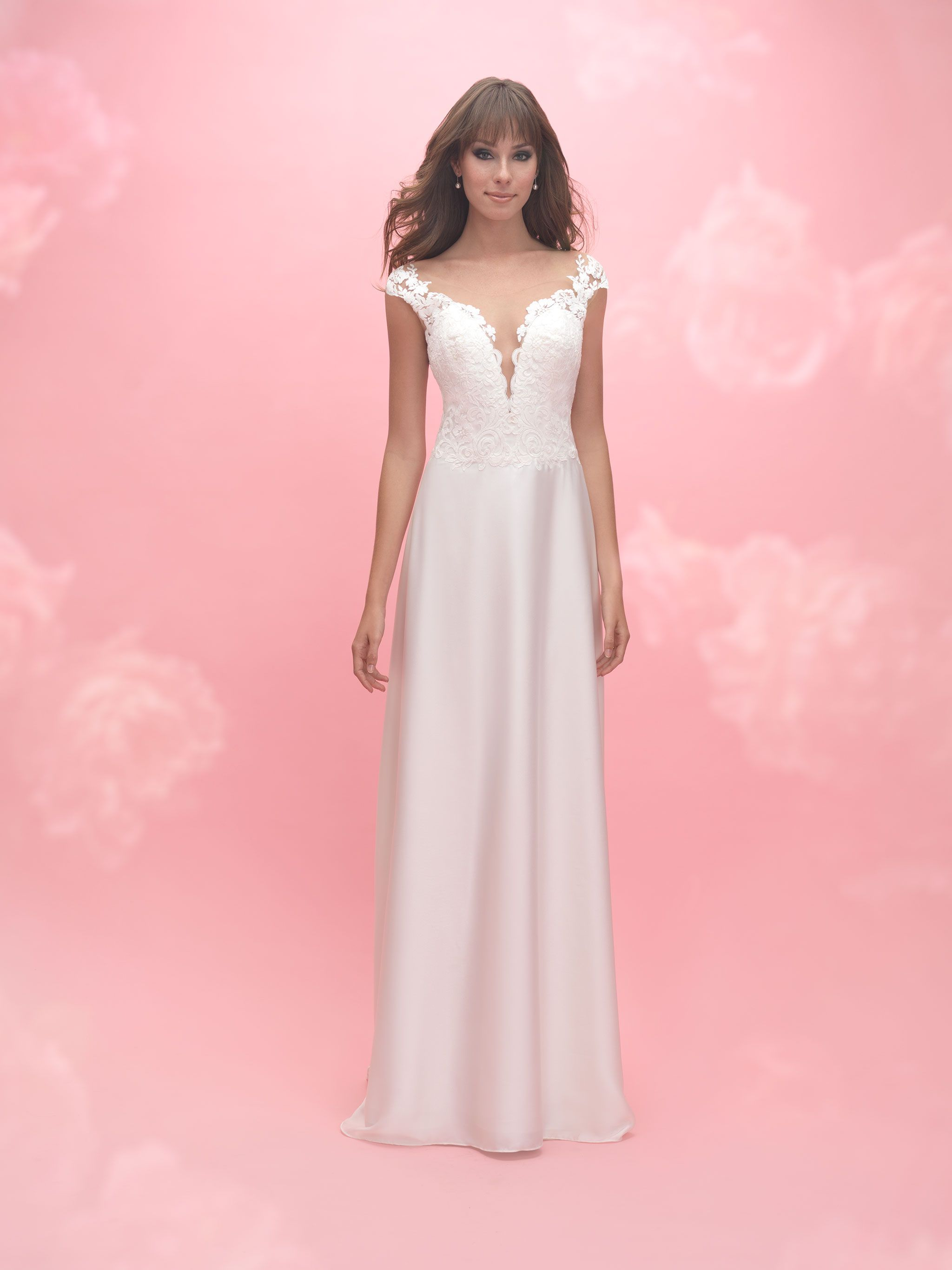 Allure romance style available lowus bridal wedding