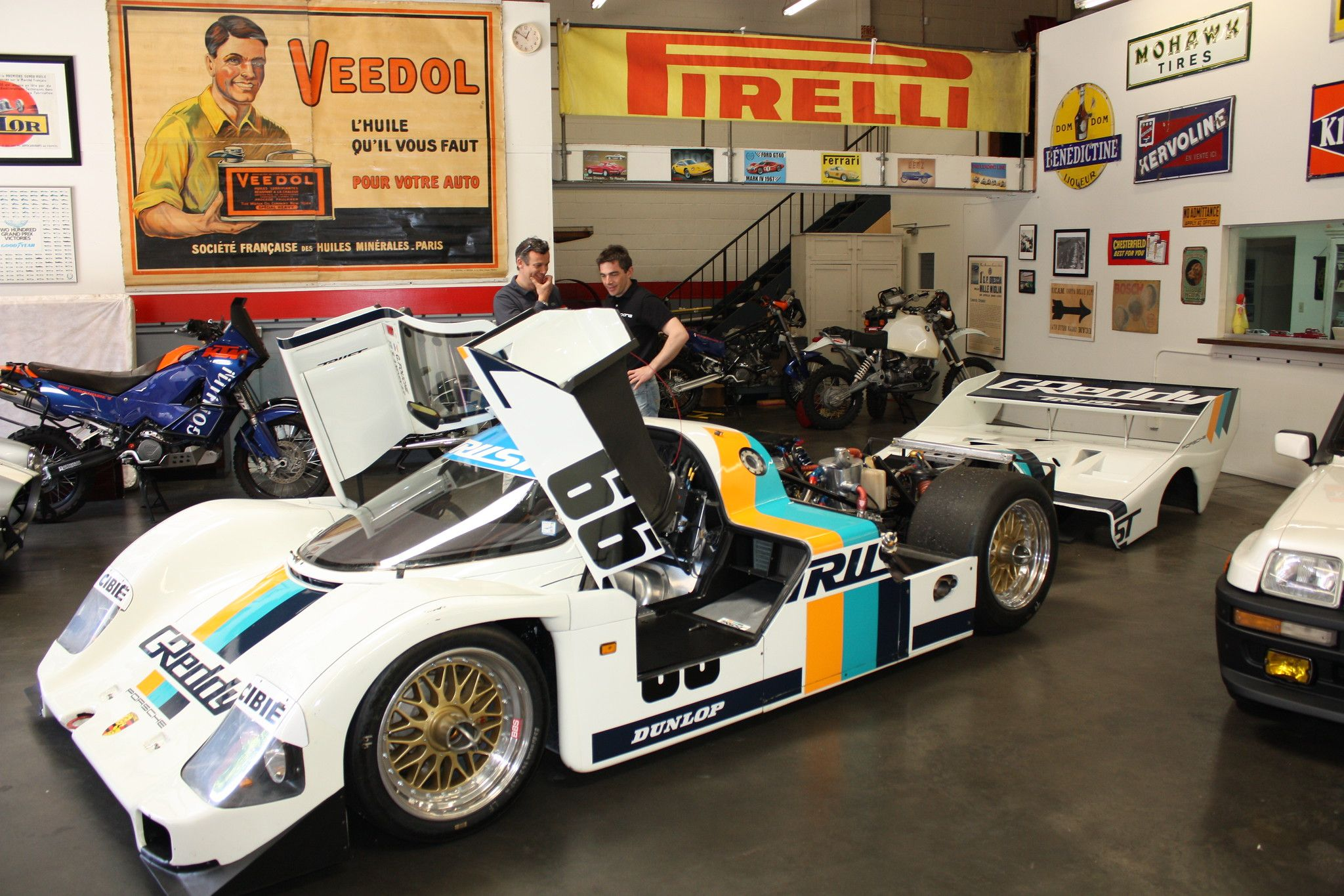Porsche 962C 1991 Chassis Nr. 166 SOLD Madison