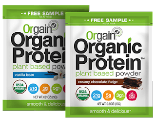 FREE Orgain Organic Protein Powder Sample Pack! #Vegan