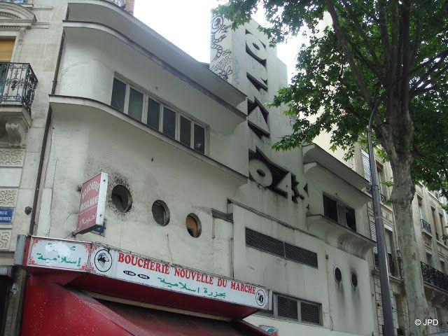 Cinéma Ornano 43 (1912-1933) 43 boulevard Ornano Paris 75018.  Le cinéma a fermé en 1981 et est actuellement remplacé par un supermarché.