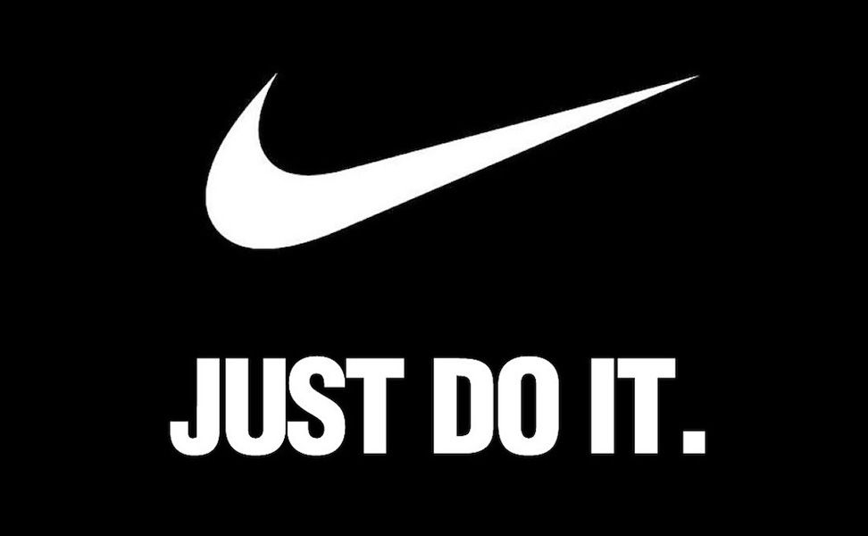 Persona a cargo va a decidir incondicional  This is an example of an advertisement that uses the element of slogan. The  brand, Nike, is famous for its… | Nike logo wallpapers, Apple logo  wallpaper, Just do it