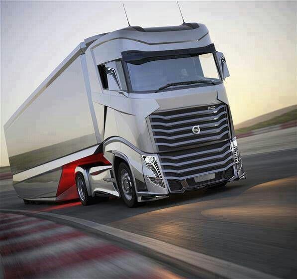 camion volvo du futur camions pinterest camions volvo le futur et futur. Black Bedroom Furniture Sets. Home Design Ideas